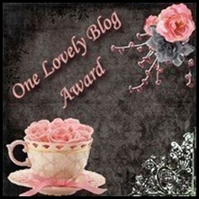 One Lovely Blog award from J Kayes Book Blog March 2009