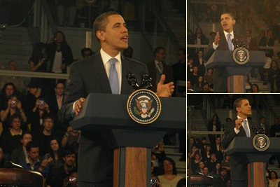 View Obama's speech in Strasbourg
