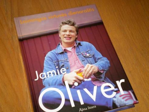 Jamie Oliver. Laimingos virtuvės dienoraštis