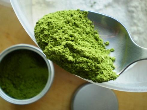 Žaliosios arbatos milteliai - matcha powder