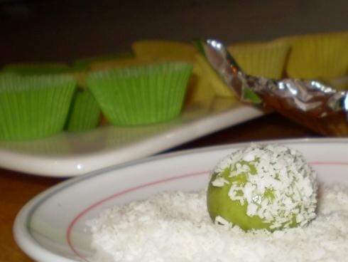 Kokoso drožlės