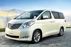 spesifikasi toyota alphard