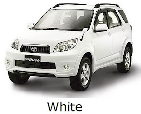 rush: new, toyota, facelift, warna, color, white