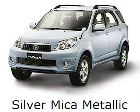 rush: new, toyota, facelift, warna, color, silver mica metallic