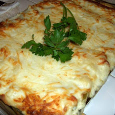 Vegetable Bechamel Lasagne