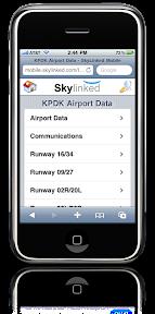 KPDK Airport Data