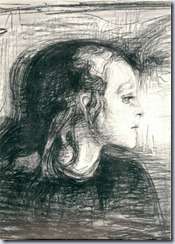 Munch - Sick girl (study)