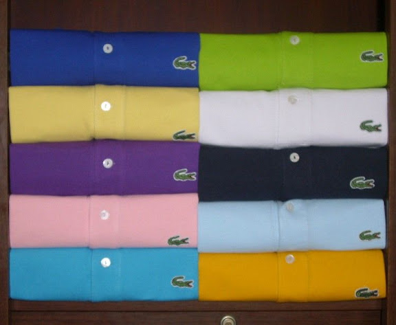 2 pcs men 39 s authentic lacoste polo short sleeve free shipping