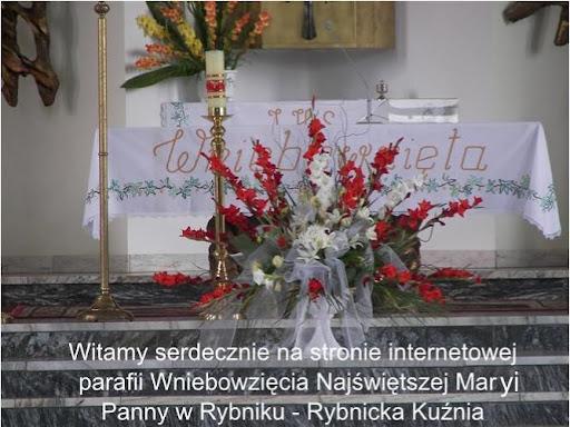 Witamy serdecznie na stronie internetowej parafii Wniebowzi�cia Naj�wi�tszej Marii Panny w Rybniku - Rybnicka Ku�nia
