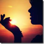 Sol na mão