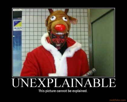 demotivational poster Unexplainable
