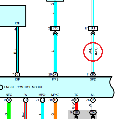 b16a ecu pinout 1G DSM ECU Pinout Toyota ECU Diagram