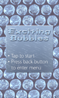 Screenshot of Exciting Bubbles