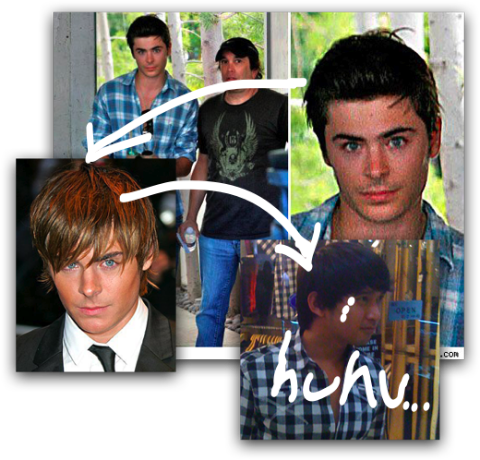 zac efron photoshop