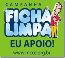 Acesse e vote pela Campanha Ficha Limpa