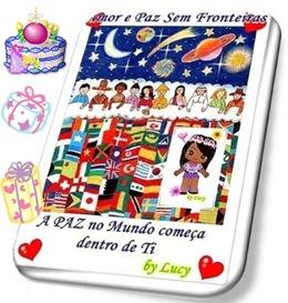 Aniversário do Blog Amor e Paz Sem Fronteiras