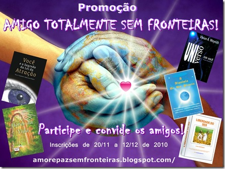 Clique e saiba como participar da Promoção de Aniversário do Blog Amor e Paz Sem Fronteiras e ganhar prêmios. Válido para todos os países!