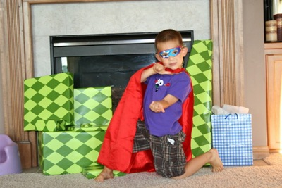 Superheroes Birthday