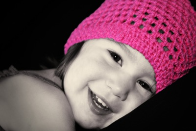 IMG_0144_B&W with pink hat