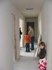 Hallway w/drywall