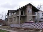 Rear angle of house