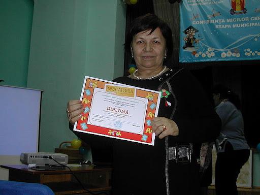 Lidia Cherdevara, LT Gh. Asachi