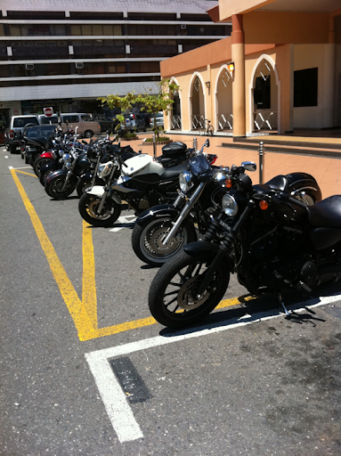 Line up of bikes