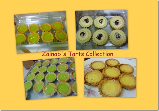 Zainab's Tarts collection