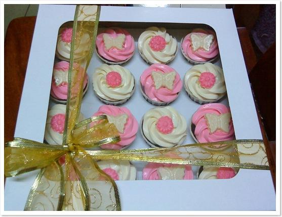 Cupcakes fondant for Hantaran1