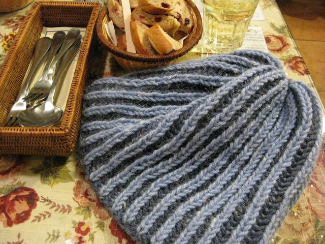 帽子_淺藍
