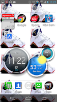 Screenshot of RETRO JORDANS Live Wallpaper