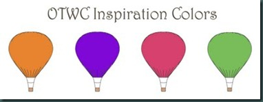 inspirationswatchpinkorangegreenpurple