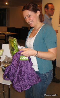 Sarah, from Tales of Expansion, Packs up Her Goodies - Photo by Taste As You Go