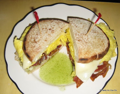 Penny Egg Sandwich at Penelope - Photo by Taste As You Go