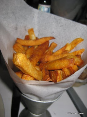 Cone of Frites at Petite Abeille in New York, NY