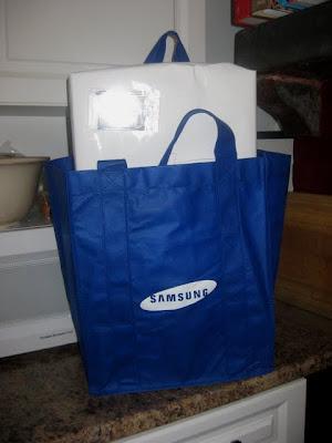 Samsung Gift Bag | Taste As You Go