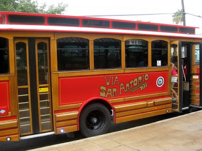San Antonio Trolley - Photo by Taste As You Go