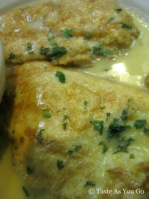 Chicken Francese at Spring Lake Gourmet Pizzeria and Restaurant in Spring Lake, NJ - Photo by Taste As You Go