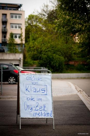Schild vor dem DGB-Gewerkschaftshaus, Erfurt