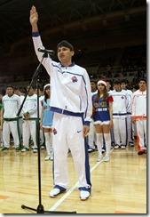 第八季SBL開幕典禮宣誓球員代表:裕隆陳志忠