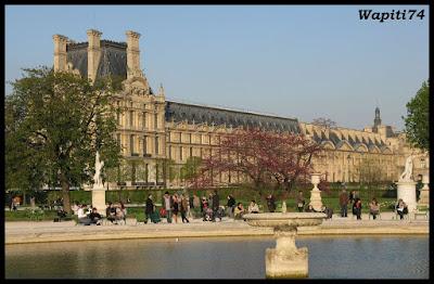 Une semaine printannière à Paris 18.Louvre