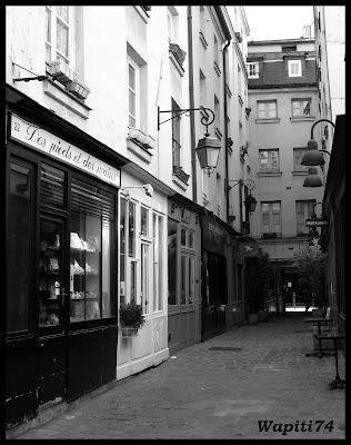 Une semaine printannière à Paris 33.Passage