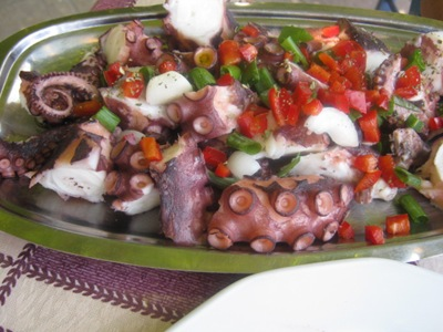 sumeria lunch octopus salad