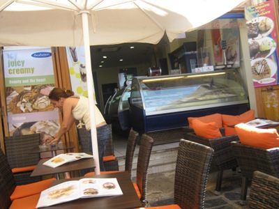 chania ice cream restaurant