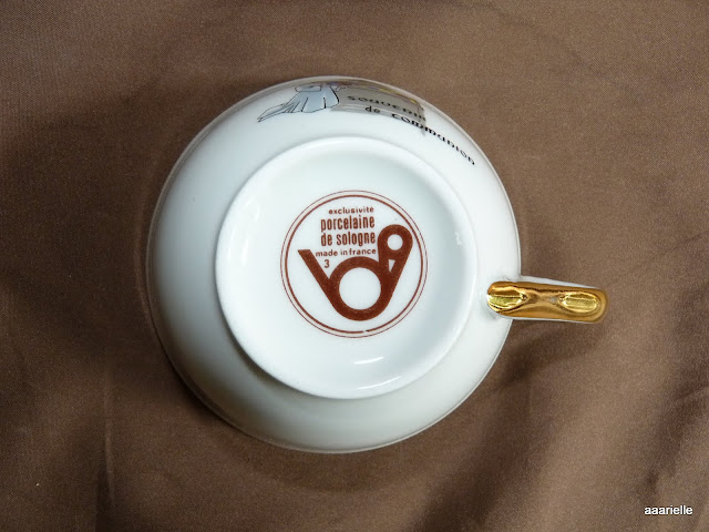 tasse de communion porcelaine de sologne dorure vitrail ebay. Black Bedroom Furniture Sets. Home Design Ideas