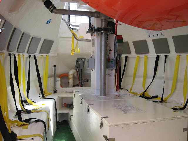 lifeboat internal compartment