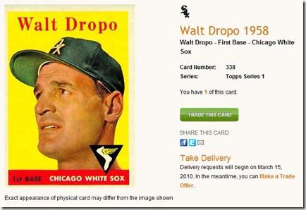 Walt Dropo 1958