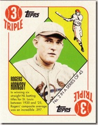 2010 Topps Target Red Hornsby