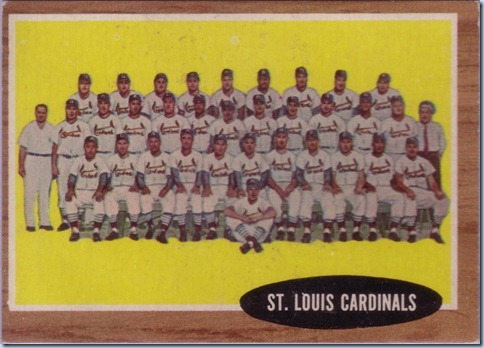 1962 Topps Cardials