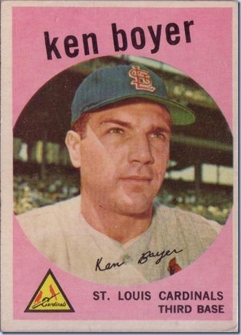 1959 Topps Boyer